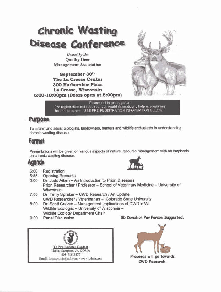 CWD Conference
